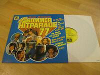 LP Sommer Hitparade '77 Schlager 20 Stars HÖRZU Vinyl Schallplatte 1C058-32308