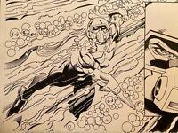Captain America #46 p9 (2001) Jurgens/Layton  Cap Undersea Battle