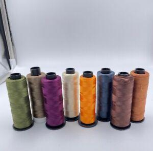 Stickgarn 78x 2000m Konen manifattura italiana cucirini Lustro 100% Polyester