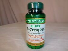 Nature's Bounty Super B-Complex - Energy Health - 150 Tablets - Expires 2/2022