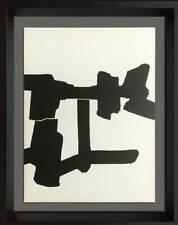 Eduardo Chillida Original Lithographs, 1964 w/Archival Frame Include