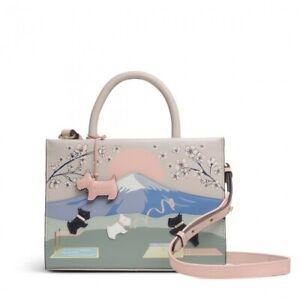 Radley Signature Picture Bag 'Radley Games' Small Zip-Top Mutiway Grab Bag