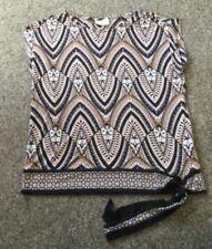 Maglie e camicie da donna, taglia piccola sintetico a girocollo