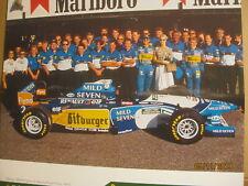 Bitburger Formel-1-Kalender 1996 - Michael Schumacher - 1.Weltmeisterjahr 94