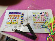 DMC fluorescent bracelet kit - counted cross stitch Animal