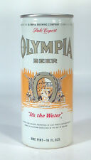Vintage Olympia Pale Export Beer 16oz Can Pint Aluminum St Paul It's The Water