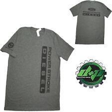 Ford Powerstroke Diesel Tee truck shirt DPP trucker gear 4X4 Med. Gray XL