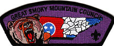 Boy Scouts Of America GREAT SMOKY MOUNTAIN CNL CSP badge
