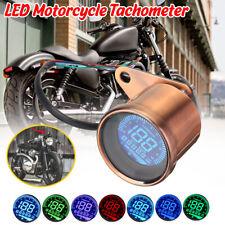 12V Motorcycle Speed Meter Odometer MPH Digital LCD Screen Universal