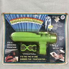 2in1 Fountain-Fan Vintage Garden Hose Attachment Summer Fun Water Fan Drinking