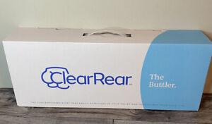 Clear Rear Bidet The Buttler Toilet NIB