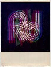 Photo Couleurs - Initials - Pop - Tirage argentique d'époque 1960 -