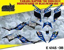 MOTOSTYLE-MX DEKOR ATV YAMAHA RAPTOR 700 GRAPHIC KIT YAMAHA RACING FOX E4145 B