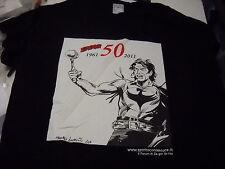 BLACK ZAGOR GADGET MAGLIA 50 ANNI DI ZAGOR 2011 Ufficiale RARE!! introvabile