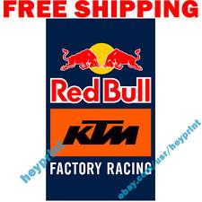 HONDA FLAG BANNER 3/'X5/' MOTORCROSS RACING RED WING Fast Free Shipping