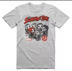 "Funko POP! Marvel Avengers ""It's Shawarma Time"" 3XL T-Shirt (3X-Large) *Sealed*"