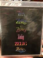 Zelig Blu-Ray TWILIGHT TIME Limited Edition Woody Allen - BRAND NEW/SEALED OOP