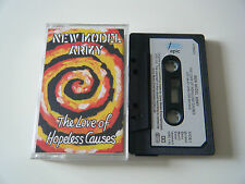 NEW MODEL ARMY THE LOVE OF HOPELESS CAUSES CASSETTE TAPE 1993 PAPER LABEL EPIC