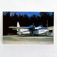 Chalk's Della Compagnia Aerea - Grumman Mallard - N3010 - Aeromobili Cartolina