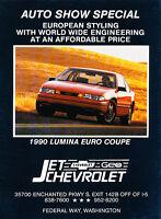 Classic Vintage Advertisement Ad D06 1995 Chevrolet Lumina minivan Van