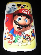 Mario Hard Cover Case for Samsung S3 III Mario Fist Up  Various Outfits Yellow