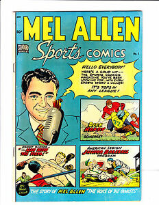 """Mel Allen Sports Comics   No.5     : 1949 :     : """"The Voice Of The Yankees"""" :"""