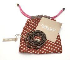 Chan Luu Coated Silver Kansa Wrap Handmade Bracelet $150