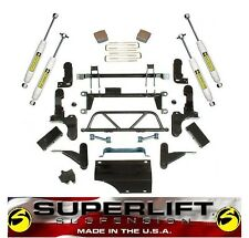 "1993-1999 Chevrolet Silverado GMC K2500 K3500 5""-7"" SuperLift Lift Kit 8 Lug"