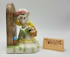 1980s Precious Moments Collection My First Call Mouse Knocks on Door Avon Award
