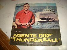 "BOB MITCHELL ""THUNDERBALL/NON POTRO' AMARTI"" 1966 JOLLY 20345 O.S.T. 007"