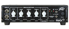 Peavey MiniMAX 500W Lightweight Solid-State Bass Amplifier Amp Head