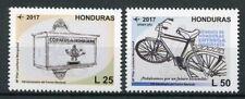 More details for honduras 2017 mnh national postal services 140th anniv 2v set bicycles stamps