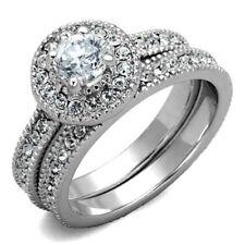 Anillos de bisutería anillo de compromiso color principal plata