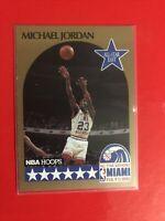 Micheal Jordan 1990-91 Hoops  N 5 All Star Game