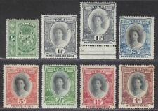 Tonga 1920 Queen Salote Part Set to 1sh Mint