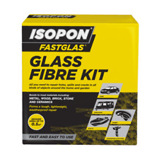 U-Pol - Fastglas Resin & Glass Fibre Kit Large - GL/LA/D