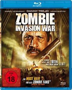 Zombie Invasion War Blu-ray Horror Film NEU