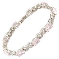 Sarotta Jewelry Sale Charming Pink Sapphire Tennis Bracelet Jewelry