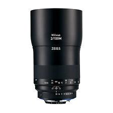 Zeiss Milvus 100mm f/2 Macro ZE (for Canon) Lens *NEW* *IN STOCK*
