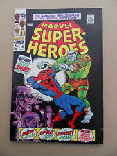 Marvel Super Heroes 14 . Spider-Man / Ross Andru .Marvel 1968 . FN / VF