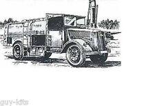 CAMION-CITERNE Kfz 385 FLUGBETRIEFSSTOFF - Kit résine PLANET MODELS 1/72  N° 017