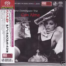 """""""Chano Dominguez Trio - Con Alma"""" Japan Venus Records Audiophile DSD SACD CD New"""