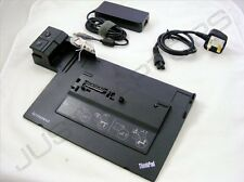 New Lenovo ThinkPad 0A65695 433715P 0A65684 0A65686 Docking Station + AC Adapter