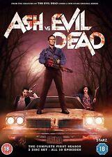 Ash vs Evil Dead Complete Series 1 DVD All Episode First Season UK Release NEW