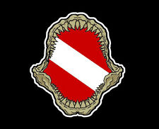(Pack of 3) Scuba Diving Megalodon Dive Flag 200-117
