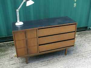 Compact vintage retro sideboard, ideal for smaller homes