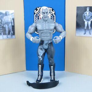 "SUPERSTAR BILLY GRAHAM BLACK & WHITE JAKKS WWE CLASSIC SUPERSTARS 7"" FIGURE"