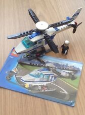 Lego City 7741 Police Helicopter and pilot from 2008 - complete - free postage