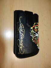 Ed Hardy Tiger Leather Bag Mobile Phone Case Apple iPhone 4 4s 3gs 3g 2 3 G iPod Touch