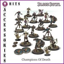 BLOOD BOWL THE CHAMPIONS OF DEATH SHAMBLING UNDEAD BLOOD BOWL TEAM GW